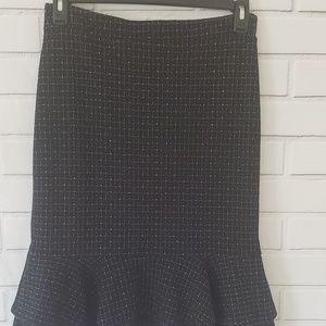Banana Republic Ruffle Skirt Size 6